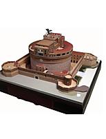 Puzzles Kit de Bricolage Puzzles 3D Blocs de Construction Jouets DIY  Château Bâtiment Célèbre Architecture