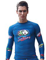 Submersible Diving Suit Male Imports Material Sunscreen Snorkel Suits Yacht Surf Suit Swimming Shirt