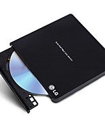 Gp65nb60 lg 8 veces usb2.0 external dvd drive burner win8 y mac negro