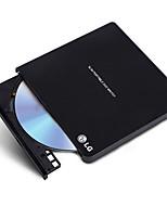 Gp65nb60 lg 8 fois usb2.0 graveur de disque dur externe win8 et mac noir