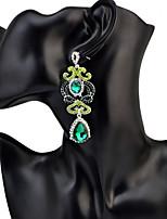 Mujer Pendientes colgantes CristalDiseño Básico Diseño Único Diamantes Sintéticos Geométrico Amistad Gótico joyería película Joyería de