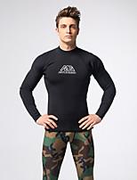 Men's 3mm Full Wetsuit Sports Terylene Diving Suit Long Sleeve Diving Suits-Diving & Snorkeling Spring/Fall Solid