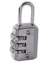 MINGGAO CR-17E Password Unlocked 3 Digit Password Dail Lock Password Lock Luggage lock