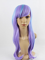 The Daily Lolita  Tween Color Blue and Purple Cosplay Synthetic Wig