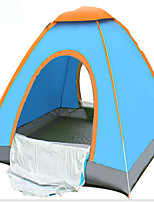 2 persons Tent Single Fold Tent One Room Camping Tent 1000-1500 mm Terylene Silver TapeQuik Dry Ventilation Anti-Wear