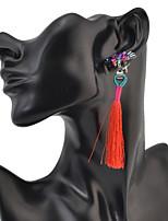 Drop Earrings Women's Euramerican Fashion Luxury Rhinestone Elegant 3  Colors Earrings  Party Daily Movie Jewelry
