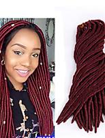 Top Quality Fauxlocs braid hair synthetic crochet braids extension 1pcs 100g 2X havana mambo fauxlocs hair for braiding sister twist 24strands/pack