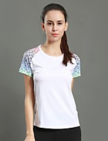 WOSAWE Women's Running T-Shirt with Shorts Short Sleeves Fitness, Running & Yoga Quick Dry Breathable Sweatshirt for Running/Jogging Yoga