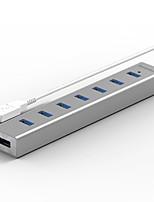 Blueendless h702u3 usb3.0 5.0 gbps 7 портов 0,6 м кабель-концентратор