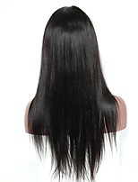 Lace Front Human Hair Wigs For Black Women Silk Straight 120% Density Pre Plucked Natural Hairline With Baby Hair Remy Hair