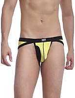 Men's Fashion Sexy Briefs Underwear Low Waist Mesh Breathable Panties Size S-XL
