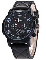 Муж. Спортивные часы Армейские часы Модные часы Наручные часы Уникальный творческий часы Повседневные часы Кварцевый Календарь Кожа Группа