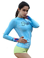 The New Jellyfish Coat Women Korean Version Of The Slim Split Diving Clothes Long-Sleeved Anti-UV Snorkeling Suit