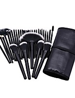 32Makeup Brush Set Blush Brush Eyeshadow Brush Eyelash Comb Eyelash Brush dyeing Brush Eyelash Brush Fan Brush Powder Brush