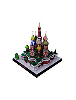 Jigsaw Puzzles DIY KIT 3D Puzzles Building Blocks DIY Toys Famous buildings Church