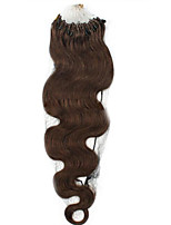 16-24Body Wave  0.5G/ Strand  Micro Ring Hair Extensions Human Hair Extensions100S 50G