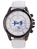 Муж. Спортивные часы Модные часы Наручные часы Уникальный творческий часы Повседневные часы Кварцевый Кожа Материал ГруппаС подвесками