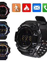 Smart Watch Waterproof Sports Wristwatch EX16 SmartWatch with Pedometer Distance Counter Wearable Device for iOS and Android