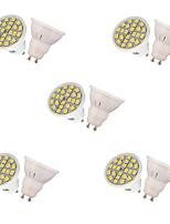 3W Spot LED MR16 24 SMD 5050 250 lm Blanc Chaud Blanc Froid Décorative AC 100-240 V 10 pièces