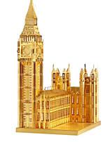 Jigsaw Puzzles DIY KIT 3D Puzzles Metal Puzzles Building Blocks DIY Toys Architecture Aluminium