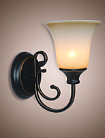 Antique Wall Lamp Bedside Bedroom LED Lamp Corridor Staircase Wall Lamp Retro Living Room Wall Lamp