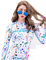 Girls Sunscreen Floating Suit Split Korean Version Of The Long-Sleeved Surf Suit Diving Suit Jellyfish Clothes Jacket