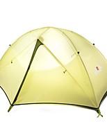 1 personne Tente Double Tente pliable Une pièce Tente de camping 1500-2000 mm Aluminium Térylène Etanche Résistant à la poussière Pliable-