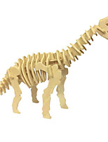 DIY KIT 3D Puzzles Jigsaw Puzzle Toys Dinosaur Animal 3D Simulation Not Specified Pieces