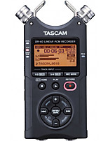 TASCAM DR-40 Digital Voice Recorder 4-Track Linear PCM Professional Recorder Anti-Micro-Film Recording 24bit 4GB