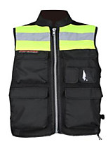 Motorcycle Riding Reflective Warning Vests Vests Uniforms Travel Uniform Fluorescent Safety Clothing Vest