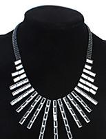 Femme Pendentif de collier Colliers chaînes Bijoux Forme Géométrique Bijoux Acrylique AlliageBasique Original Amitié euroaméricains Sexy