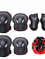 Kids' Adult Protective Gear Knee Pads + Elbow Pads + Wrist Pads for Cycling Skateboarding Inline Skates Roller Skates Longboards Eases