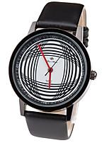 Жен. Спортивные часы Модные часы Наручные часы Уникальный творческий часы Повседневные часы Кварцевый Кожа ГруппаПовседневная Креатив