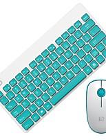 Étanche mini muet 1600dpi 2,4ghz sans fil usb souris et clavier