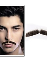 Neitsi 1Pcs Men's Beard 100% Human Hair Handmade Moustache Fashion Cosplay Accessories EM-752HH
