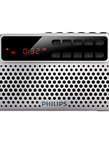 PHILIPS SBM120 SLV Speaker FM Radio TF Card MP3 USB