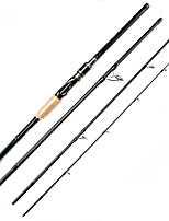 JOHNCOO 2017 NEWEST Casting Spinning Rod 2.1m 2.4m 2.7m Telescopic Carbon Fishing Rod 4 Sections Travel Rod Feeder Rod