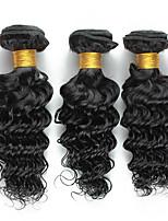 Tissages de cheveux humains Cheveux Brésiliens Bouclé 18 Mois 3 Pièces tissages de cheveux