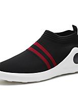 Для мужчин Мокасины и Свитер Удобная обувь Трикотаж Весна Осень Атлетический Повседневные Беговая обувь Удобная обувь На плоской подошве