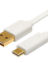 USB 3.1 Tipo C Cable adaptador, USB 3.1 Tipo C to USB 2.0 Cable adaptador Macho - Macho 1,0 m (3 pies)