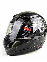 TORC T107 Motorcycle Helmet Full Helmet Double Lens Helmet Anti - Fog With Sunglasses