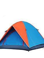 3-4 personnes Tente Double Tente de camping Tente pliable Garder au chaud Résistant à la poussière pour Camping / Randonnée CM Autre