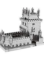 Puzzle Kit fai-da-te Puzzle 3D Modellini di metallo Costruzioni Giocattoli fai da te Rettangolare Alluminio
