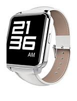 Муж. Смарт-часы Модные часы Цифровой Защита от влаги PU Группа Черный Белый