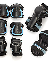 Kids' Adult Protective Gear Knee Pads + Elbow Pads + Wrist Pads for Skateboarding Inline Skates Eases pain Breathable Thick 6 pack Outdoor