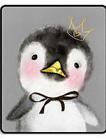 Mr.viv i cute animal black lock penguin pad pad pad tapete 24 * 20 * 0.3cm