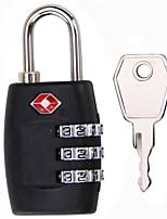 TSA335 Unlock The Key Unlock The Password  3 Digit Password TSA Lock Dail Lock and Password Lock