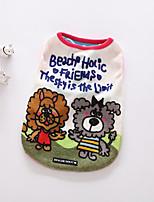 Собака Футболка Одежда для собак На каждый день Рождество Носки детские Оранжевый Красный