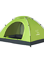 3-4 persons Tent Single Automatic Tent One Room Camping Tent 1500-2000 mm OxfordCamping & Hiking Waterproof Thermal / Warm Sun Protection