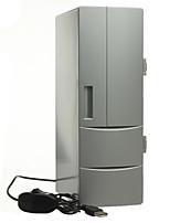 Portátil mini usb pc laptop refrigerador frigobar mini usb pc refrigerador aquecedor refrigerador bebida bebidas latas freezer